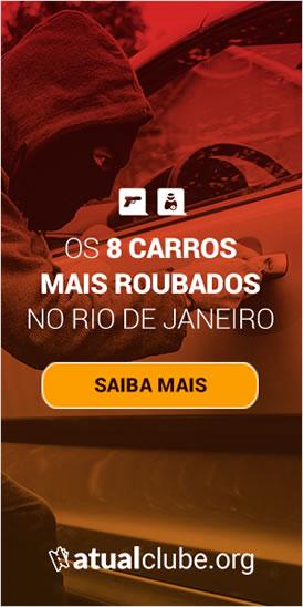 E-book: 8 Carros mais Roubados